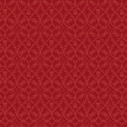 Lewis & Irene - Celtic Coorie - 6774 - Stylised Floral, Thistle in Red - A414.2 - Cotton Fabric